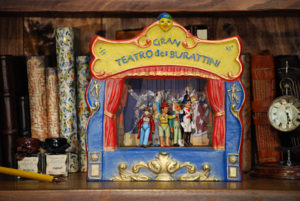 Wooden Theatres, Display Theatres and Music Boxes 'Pinocchio'