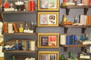 Mini librerie con calamita, a scatola e da adobbo