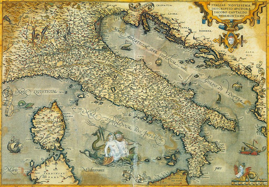 Mappa Dellitalia Antica.Mappa Antica Dell Italia Signum Firenze
