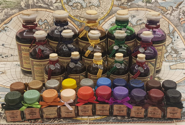 Calligraphy inks
