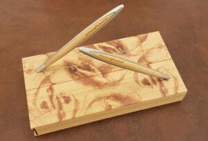 Ethergraf® Leonardo da Vinci pen and ballpoint pen