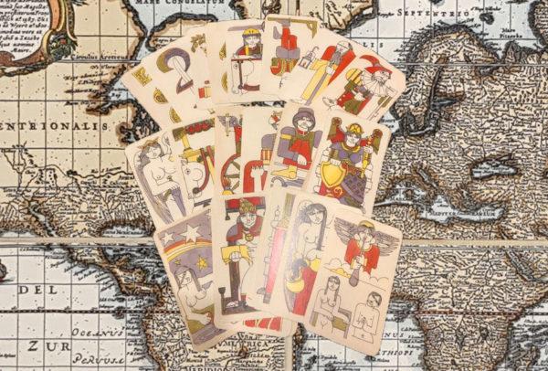 Tarot Ferdinando Crippa - Tarot of 1978.