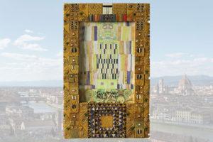 Portafoto estilo Gustav Klimt