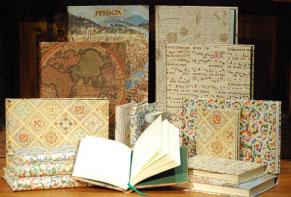 Cuadernos, agendas y libretas de direcciones de papel