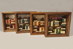 Mini bookcases Cube