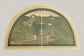 Lunette delle Ville Medicee di G. Utens