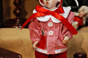 Pinocchio scolaro rosso