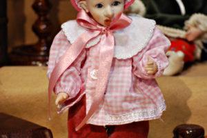 Pinocchio scolaro rosa