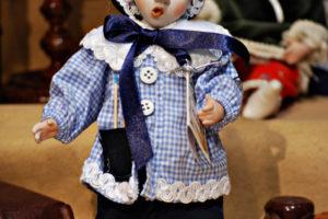 Pinocchio scolaro blù