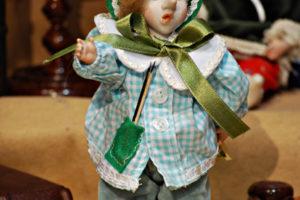 Pinocchio scolaro verde