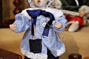 Pinocchio scolaro somaro blù
