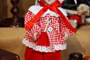 Pinocchio scolaro somaro rosso
