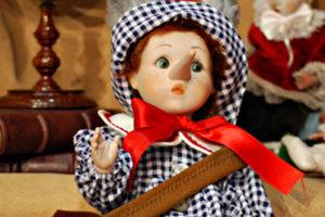 Pinocchio bugiardo somaro blù