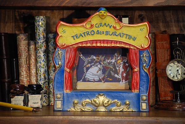 Gran teatro dei burattini (Pinocchio)