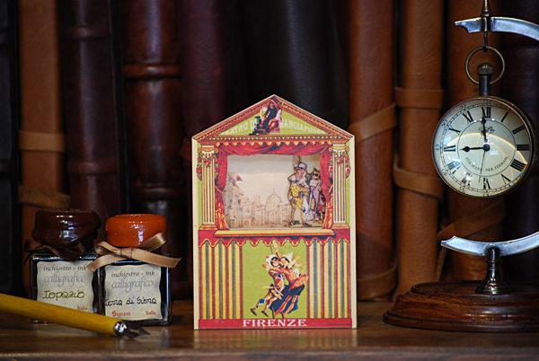 Mini teatrino con Gatto e la Volpe (Pinocchio)