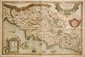 La Toscana di A. Ortelio (1584)