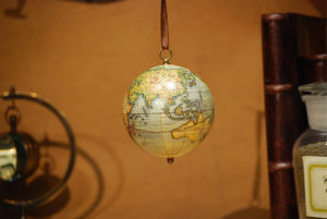The Age Of Exploration Keepsake Small ornamental historical globe