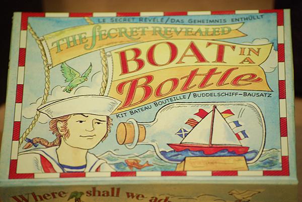 Kit barca in bottiglia