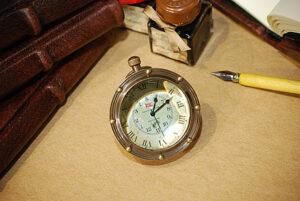 Orologio Oblò, bronzato