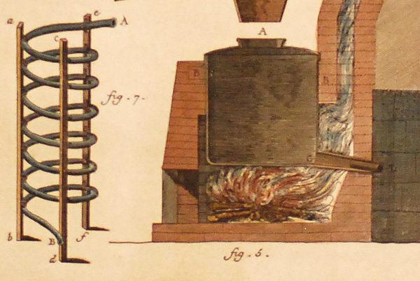 Distillatore di acqua vite