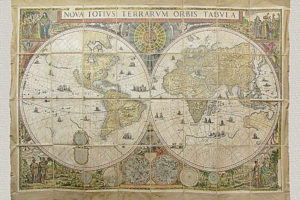 Nova Totius Terrarum Orbis Tabula di Frederik De Wit (1670 circa)