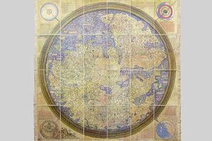 Mappamondo di Frà Mauro (1460)
