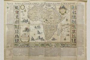 Nova Africae Geographica et Hydrographica Descriptio di G. Blaeu (1669)