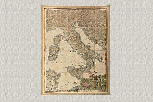 L'Italia di Gio. Antonio Rizzi-Zannoni (1806)