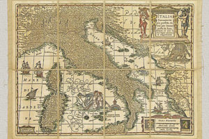 Italia nuovamente più perfetta che mai di J. Janssonium (1658 circa)