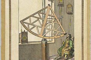 Astrolabio in legno di Hevel, 1648